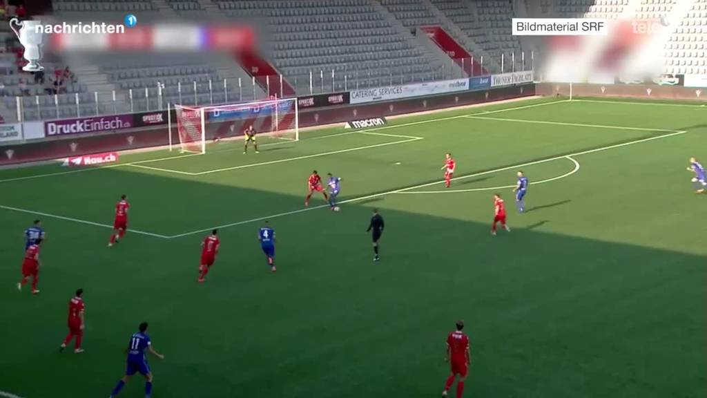 Cup FC Thun gegen FC Luzern