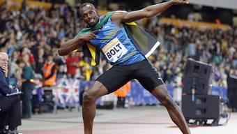 Usain Bolt zelebrierte in London seine Rückkehr