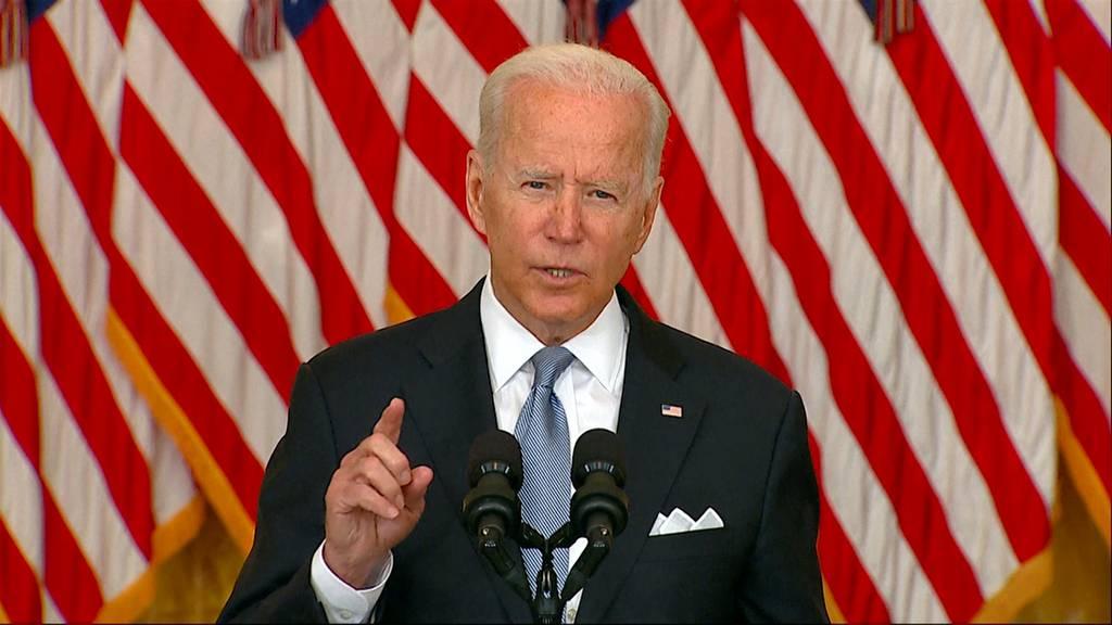 «Ich stehe vollkommen hinter meiner Entscheidung»: Joe Biden verteidigt US-Truppenabzug aus Afghanistan