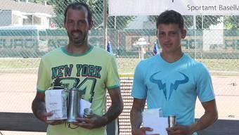 Pedro Salas (l.), gewann den Final der Hauptkategorie gegen Timo Lanz.