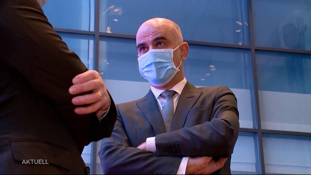 Sonderschutz für Berset? Der Gesundheitsminister ist zu Besuch im Aargau