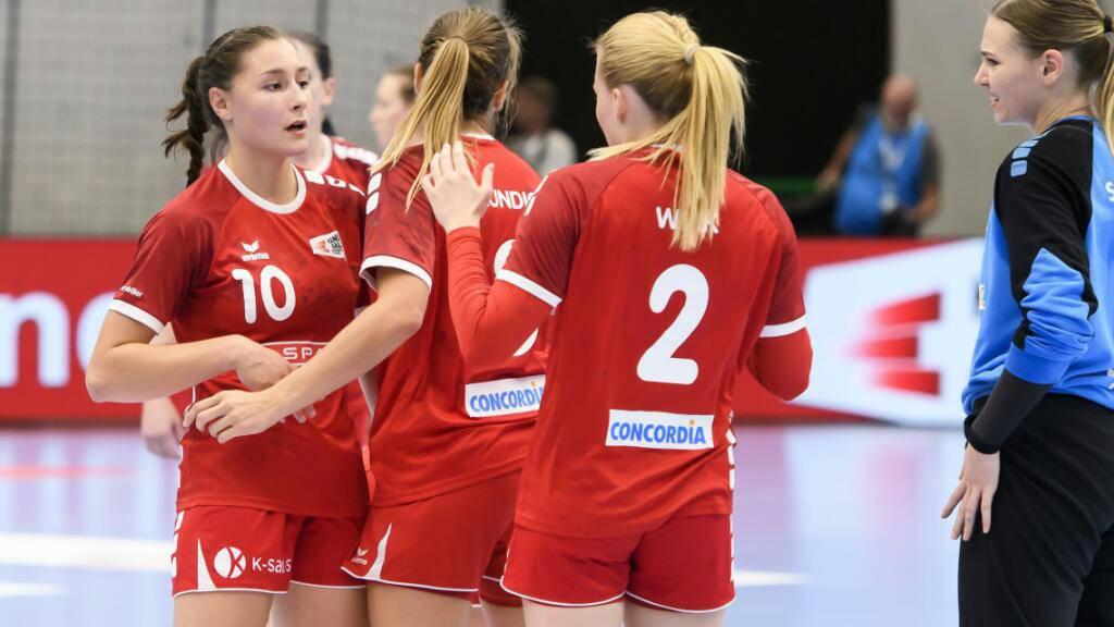 Die Schweizer Handballerinnen, hier während der Qualifikationskampagne 2020, haben noch nie an einer EM teilgenommen