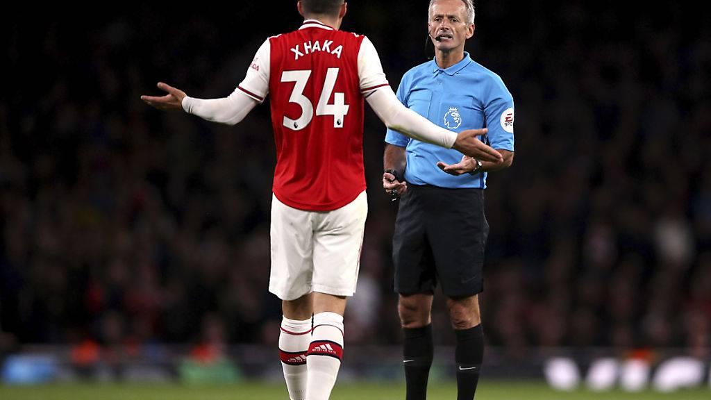 Granit Xhaka als Arsenal-Captain abgesetzt