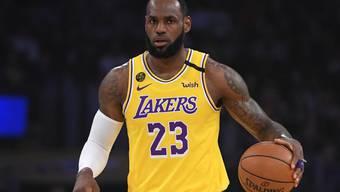 LeBron James und die Los Angeles Lakers werden beim Saison-Neustart in Orlando mit von der Partie sein