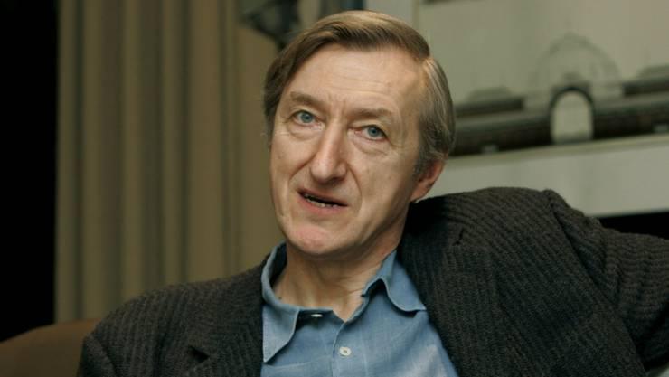 Der britische Schriftsteller Julian Barnes.