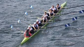 Die Frauen von Blauweiss erreichten Rang 8.