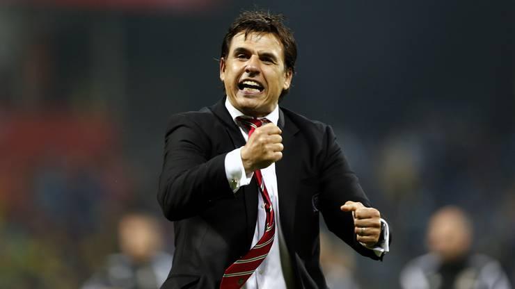 Der Baumeister des Erfolgs: Wales-Coach Chris Coleman.