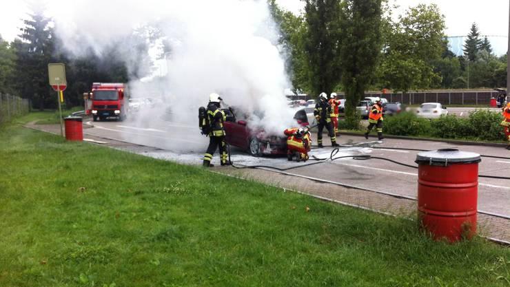 Die Polizei vermutet ein technisches Problem als Brandursache.