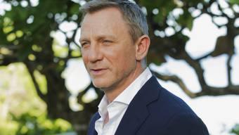 Muss eine Zwangspause einlegen: Bond-Darsteller Daniel Craig hat sich während der Dreharbeiten am Fuss verletzt. (Archivbild)