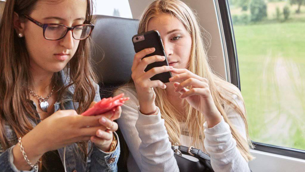 """""""SBB Freesurf"""" bietet über das Mobilfunknetz kostenloses Internet im Zug. Vorerst ist es Kunden von Sunrise und Salt vorbehalten. Swisscom und Sunrise sehe keinen Bedarf: Der Trend gehe in Richtung Flatrate. (Symbolbild)"""
