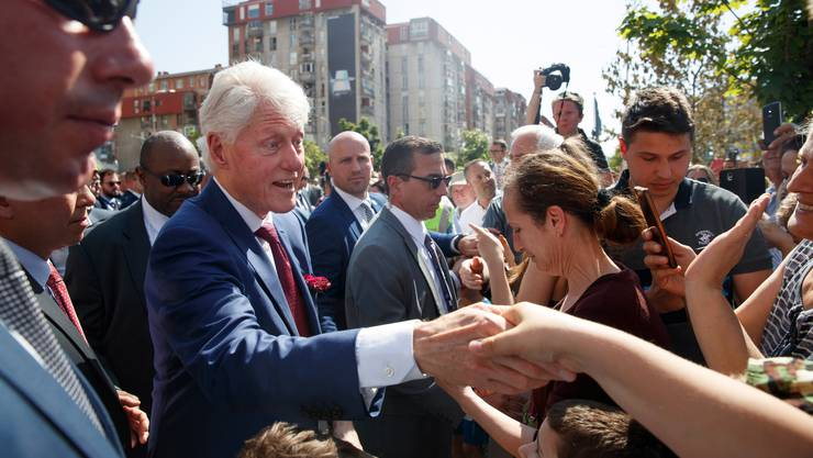 War vier Mal in Epsteins Privatjet unterwegs: Bill Clinton.