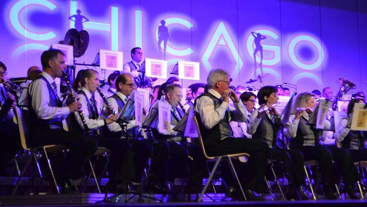 Die Stadtmusik Dietikon überzeugte als Ensemble und mit den Auftritten zahlreicher Solisten, doch manchen im Publikum war die Liederauswahl zu amerikanisch.
