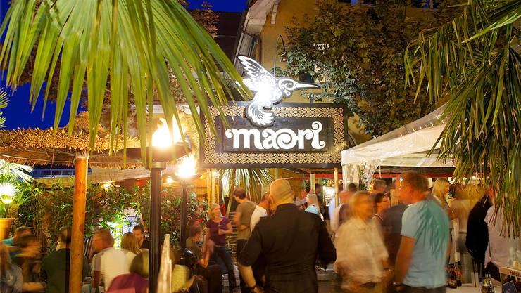 Südliche Atmosphäre im Limmattal: Ein Fest im Garten des Restaurants Maori in Schlieren. zvg
