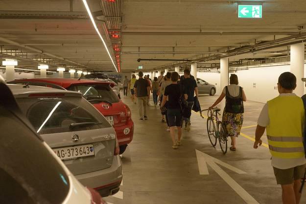 Stadtlabor Stadtspaziergang: Theaterplatzparking