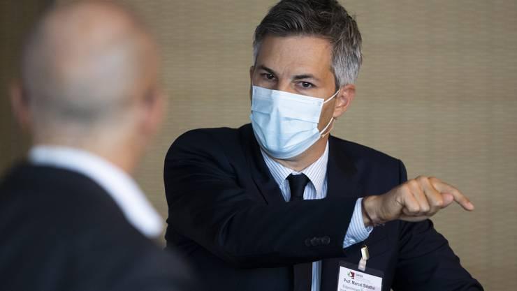 «Man darf sich nicht allzu sehr auf kurzfristige Bewegungen konzentrieren»: Epidemiologe Marcel Salathé.