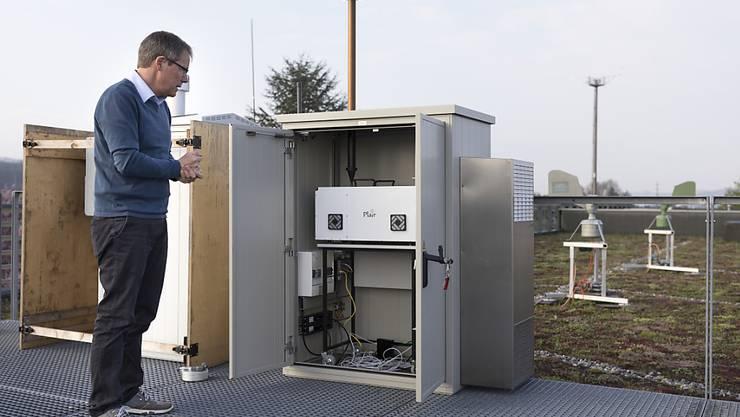 In den letzten Jahren hat MeteoSchweiz verschiedene Tests durchgeführt, um in Echtzeit über den Pollenflug informieren zu können.(Archivbild)