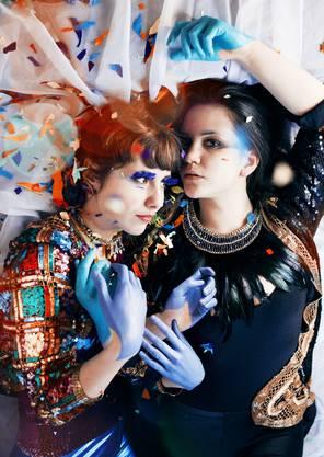 Fantastischer Avantgarde-Pop bei JPTR und Eclecta (Marena Whitcher).
