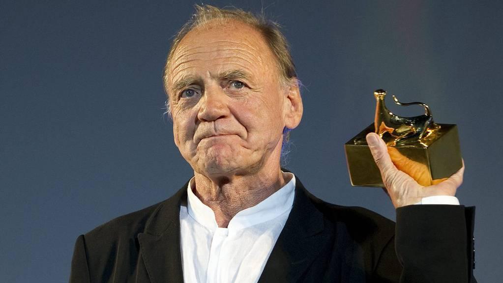 Bruno Ganz erhält am Filmfestival Locarno einen Ehrenleoparden
