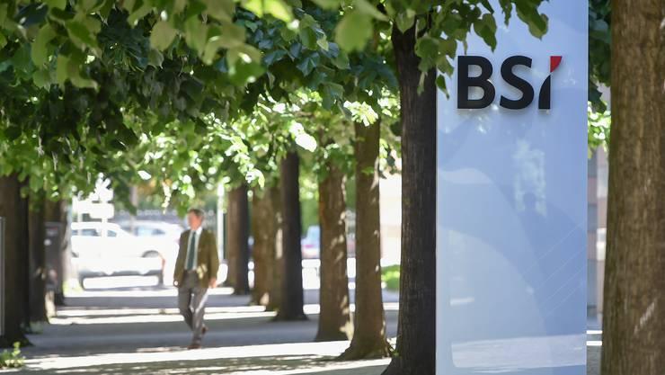 Die Banca della Svizzera Italiana (BSI) war in einen Korruptionsskandal verwickelt.