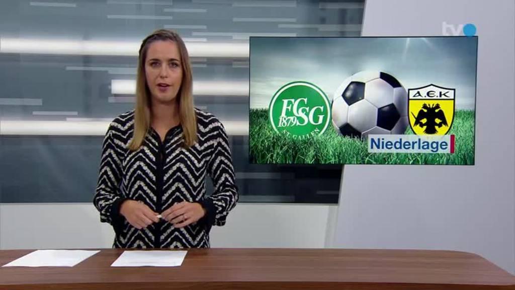 FCSG: Trotz Niederlage motiviert fürs nächste Spiel