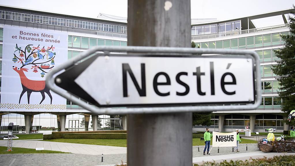 Nestlé hat eine neue Zulassung erhalten: Der Hauptsitz in Vevey am 8. Dezember.
