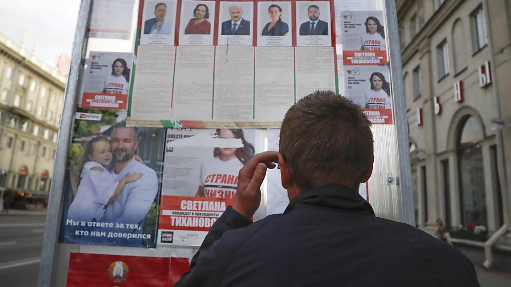 Autoritäres Belarus wählt: Knapp sieben Millionen Menschen aufgerufen