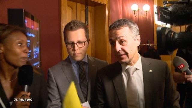 """""""Herr Cassis, werden Sie morgen Bundesrat?"""""""
