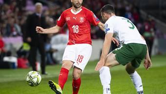Admir Mehmedi zog sich im EM-Qualifikationsspiels der Schweiz gegen Irland (2:0) einen Muskelfaserriss im hinteren rechten Oberschenkel zu und fällt auf unbestimmte Zeit aus