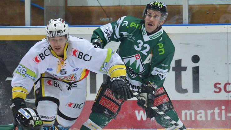 Philipp Wüst (rechts) will wieder für Spektakel sorgen.