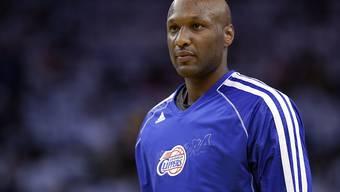 Sein Zustand ist nach wie vor lebensbedrohlich: Ex-NBA-Star Lamar Odom. (Archivbild)