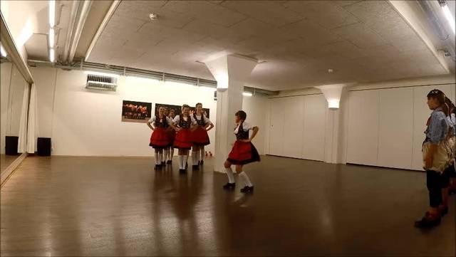 Eine Choreographie der Tanzwerk-Stepper