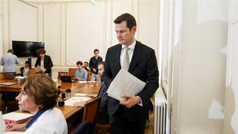 Pierre Maudet: Oberster Polizeidirektor und Gegenstand eines Ermittlungsverfahrens der Genfer Staatsanwaltschaft. Key