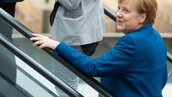 Wird in einer Theaterkomödie als alternativlose Herrscherin dargestellt: die deutsche Bundeskanzlerin Angela Merkel. (Archivbild)