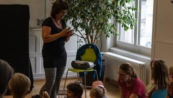 Auch Wettinger Eltern und Kinder profitieren vom Familienzentrums Karussell in Baden. (Archivbild)