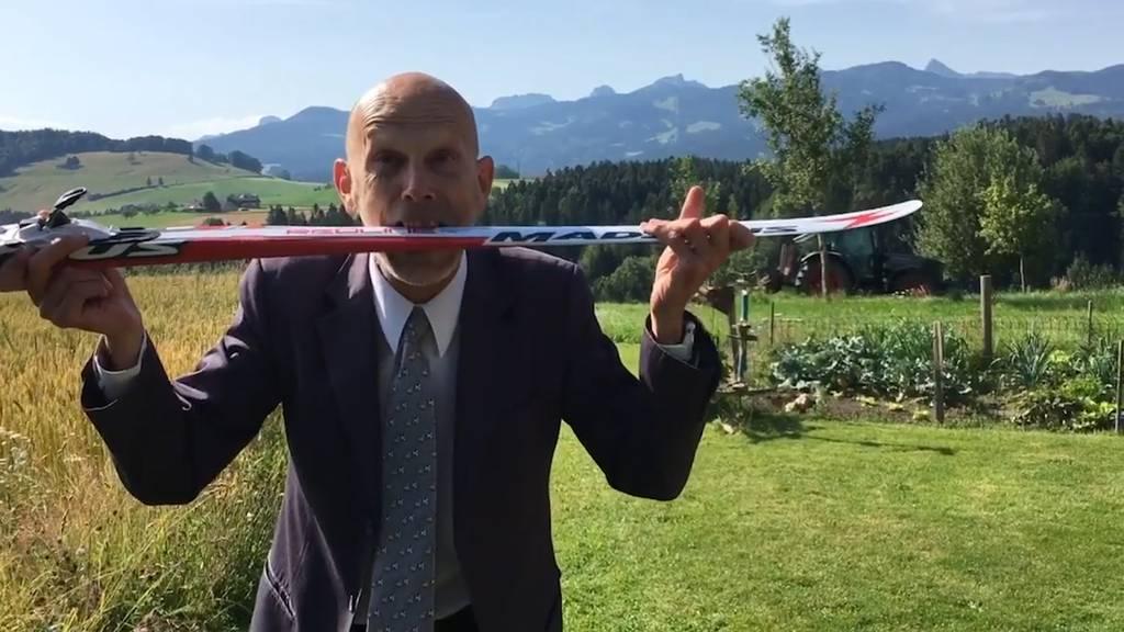 Daniel Koch im neusten Video: «Es ist anstrengend!»