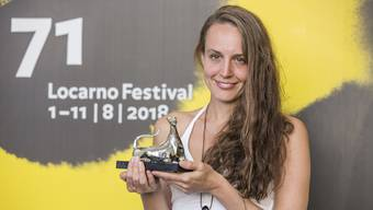 """Die Gretzenbacherin Nicole Vögele (35) hat im August 2018 einen Preis am Locarno Festival für ihren Film """"Closing Time"""" gewonnen."""