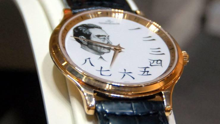 Luxusuhren von Schweizer Herstellern sind bei Chinas Beamtengern gesehene Bestechungsgeschenke.ChinaFotoPress/laif