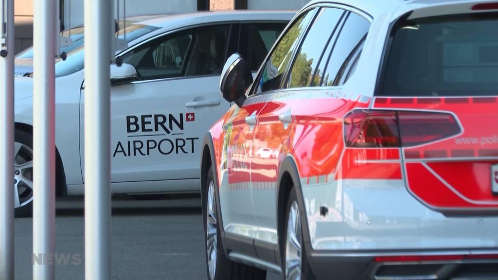 Flughafen Belp nach «verdächtigem Anruf» evakuiert: Gelände wurde während mehreren Stunden grossräumig abgesperrt
