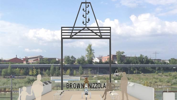 Mit der «Brown Nizzola»-Plattform wollen Stadt und IG Pro Steg an die Strompioniere und ihr Werk erinnern.