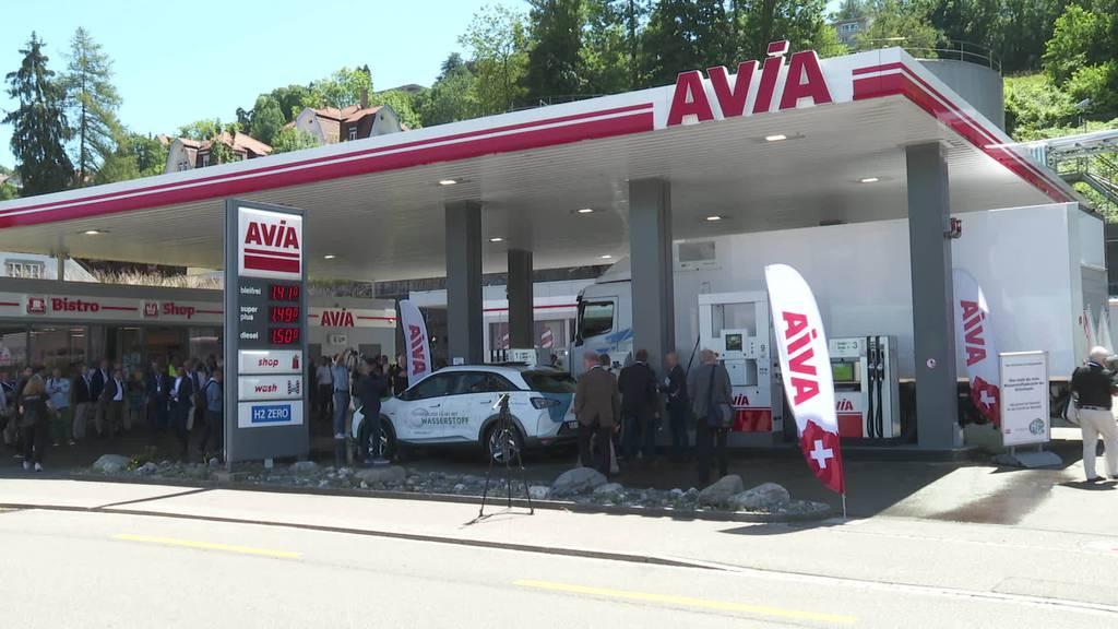 Erste Wasserstoff-Tankstelle in der Ostschweiz eingeweiht