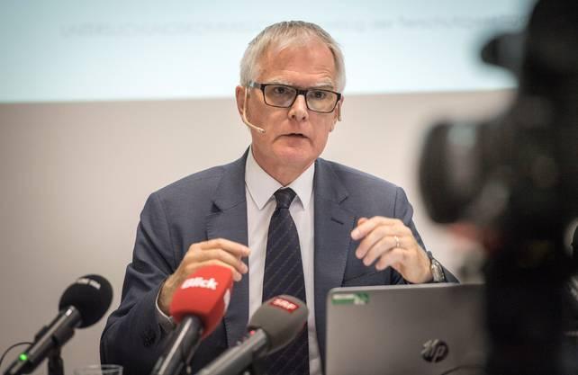 Aufsichtspräsident Hanspeter Uster.