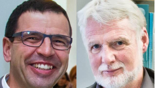 Matthias Jauslin (FDP) und Urs Kuhn (Grüne) wissen noch nicht, ob sie wieder antreten.