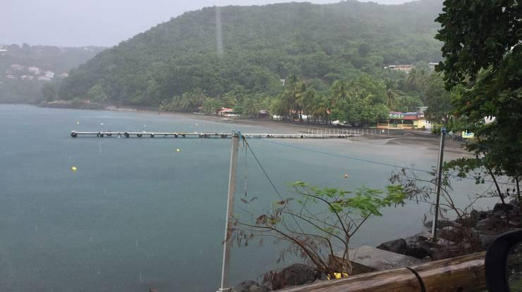 Beliebter Badestrand und Tauchspot. In der Bucht «Malendure» tummeln sich normalerweise dutzende Boote.