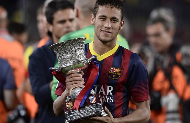 Neymar feierte seinen ersten Titel im Barça-Dress