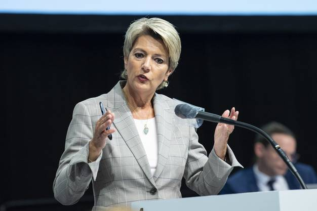 Bundesrätin Karin Keller-Sutter