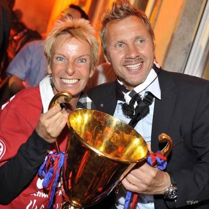 So feierte der FCB 2010 den Meistertitel.