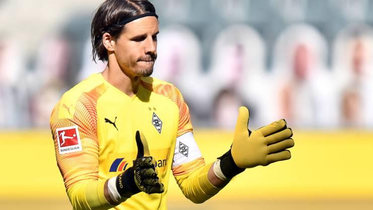 Yann Sommer steht mit Gladbach an der Schwelle zur Champions League