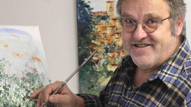 Ruedi Keller eröffnet am Wochenende seine neue Kunstoase. zvg