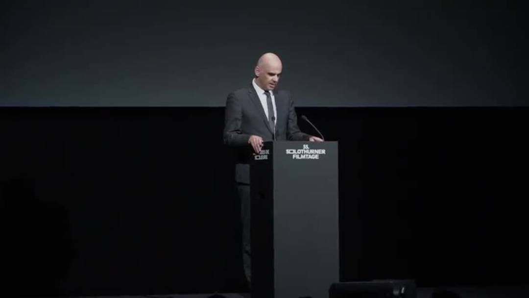 Bundesrat Berset sorgt für Lacher an den Solothurner Filmtagen