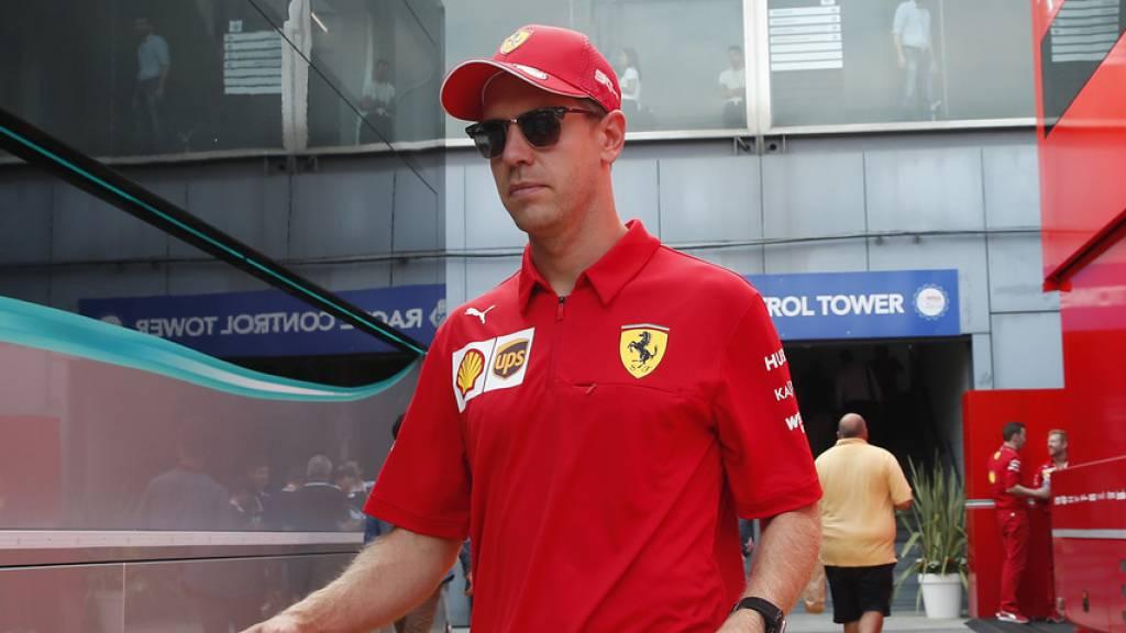 Vettel und die Umwelt: Mit dem Zug zum Italien-Rennen